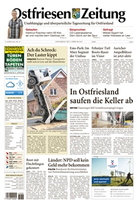 printartikel ostfriesen zeitung. Black Bedroom Furniture Sets. Home Design Ideas