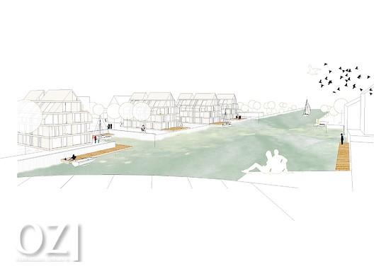 Rat stimmt bauprojekt am norder tief zu ostfriesen zeitung - Neun grad architektur ...