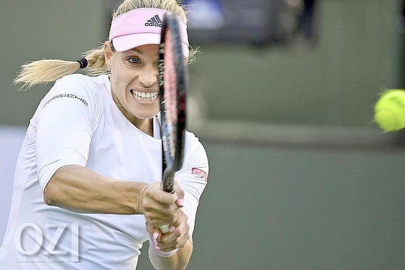 Angelique Kerber steht in Indian Wells im Halbfinale. Foto: Mark J. Terrill/AP