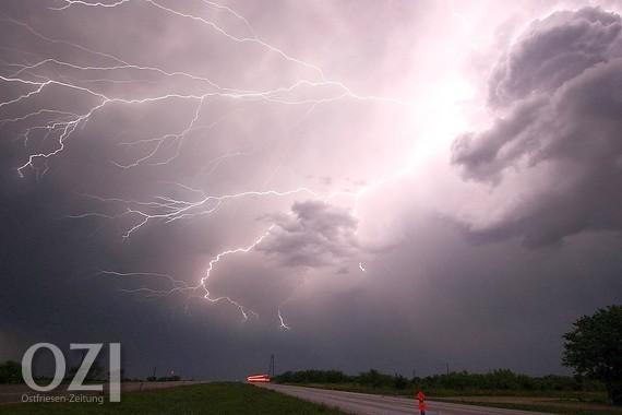 Unwetterwarnung Wittmund