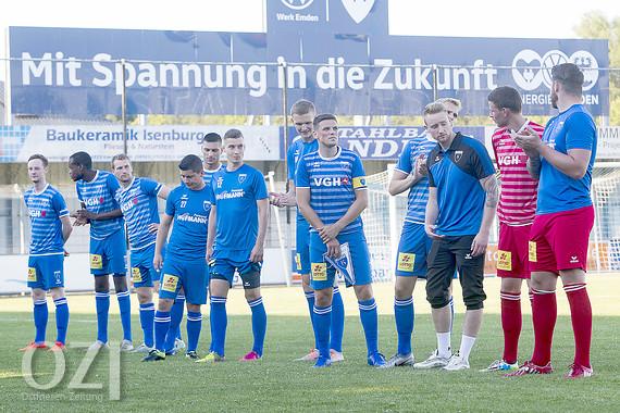Kickers Emden Spielplan