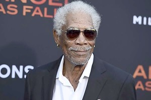 "Morgan Freeman bei der Premiere des Films ""Angel Has Fallen"" 2019 in Los Angeles. Foto: Jordan Strauss/Invision/AP/dpa"