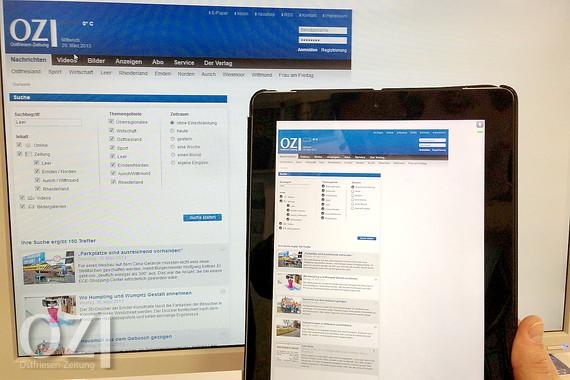 Neues Archiv Der Oz Seit Heute Online Ostfriesen Zeitung