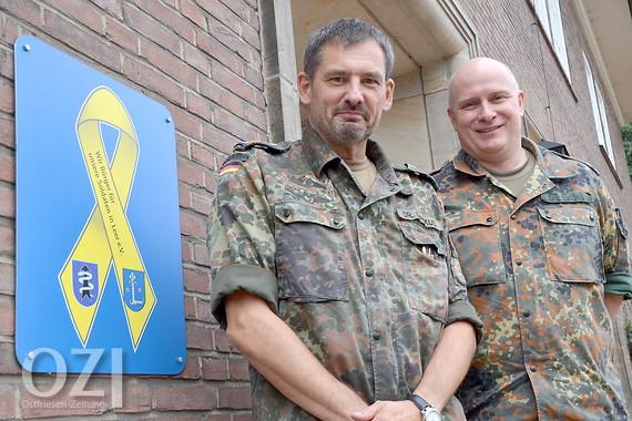Kommandowechsel bei der Bundeswehr in Leer - Ostfriesen