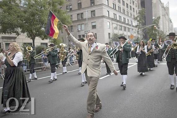 Steuben Parade New Yorker Feiern Deutsche Traditionen Ostfriesen